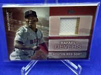 2020 TOPPS UPDATE RAFAEL DEVERS RED MAJOR LEAGUE MATERIALS S' # /25 SP RED SOX