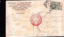 CARTOLINA DEL 1917 PER MILITARE REGIO ESERCITO 1° RGT ALPINI CHIUSA PESIO C7-240