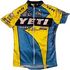 XL Vintage Retro Style Yeti Cycles Team Cycling Racing Jersey Giordana Italy EUC