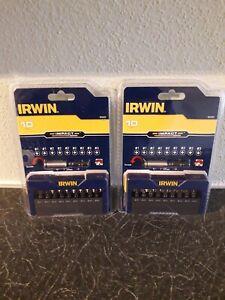 2 sets of Irwin Impact Screw driver Bit Set