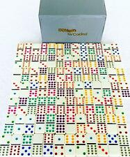 Vintage Domino Set by Cardinal Double Twelve 88 Piece Game with Case - Missing 3