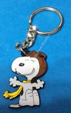 PEANUTS SNOOPY RED BARON RING STYLE KEY CHAIN! CUTE!!