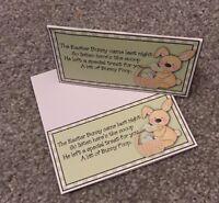 Easter Bunny poop/ Poo novelty Topper Easter Gift