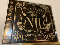 THE GAZETTE NIL NAMELESS LIBERTY UNDERGROUND OST CD JROCK ALBUM JAPAN RELEASE