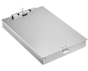 16 x 9 Basics Aluminum Storage Clipboard Low Profile Clip Three-Tier