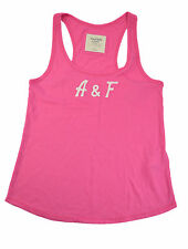 Abercrombie & Fitch Women Pink Tank Top Tee Fashion T- Shirt Size S