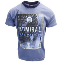 FILA Men's Heather Blue Admiral Anchor Watch S/S Tee (S18)