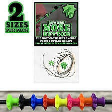 Bowmar Archery Nose Button GREEN 2 Pack