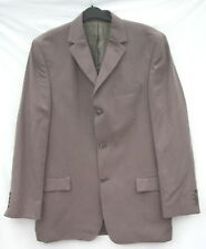 Pierre Cardin Mid Brown 40 Inch 102cm Chest Long Length Jacket