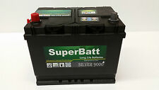 12V 80AH SuperBatt 072 Calcium Battery LDV Convoy Box, Pilot, 200, 400
