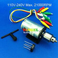 VANGEL--110~240V Max.21000rpm mini pcb drill Press tool 0.3~4mm drill chuck