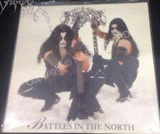 IMMORTAL Battles In The North white vinyl LP limited 200
