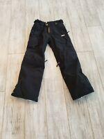 Worn Once NIKE ACG Grey Girls Sz L Snowboard Pants w/ Pockets 100% Nylon