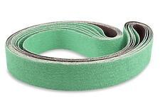 2 X 72 Inch 36 Grit Metal Grinding Ceramic Sanding Belts, 6 Pack