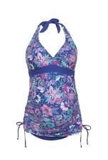 F&F Tropical Halterneck Maternity Tankini Swimsuit 8, 10, 12, 14, 16, 18, 20, 22
