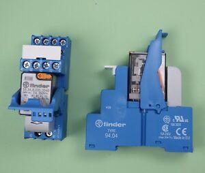 58.34.8.230.0060 - Finder Industrie Koppel Relais 230V AC 4 Wechsler 7A