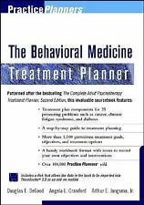 Behavioral Medicine Treatment Planner [With *] (Practice Planners)