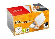 Nintendo 2ds XL Console - Wit/oranje
