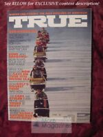 TRUE Magazine December 1970 Dec 70 SNOWMOBILING SNOWMOBILES