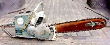 Vintage Sears 758G David Bradley Chainsaw 1950s Antique Timber Parts Repair Saw