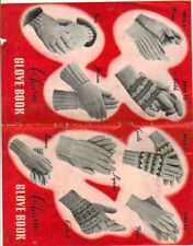 Charm Glove Book.. PATTERN. ONLY  worked in 3, 4 and 5 ply
