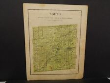 Iowa Madison County Map South Township  1912  Y12#12