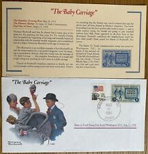 1984 The Baby Carriage by Norman Rockwell Cover from USA