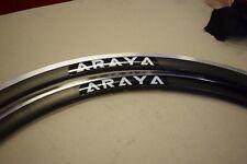 ARAYA SA-730 Rim Set 700C 28'' aluminium black 32 holes 30mm profil clincher NEW