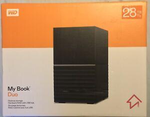 WD My Book Duo 28 TB Desktop RAID Externer Festplatte