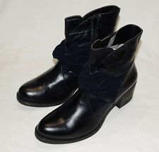 BNIB size 8 (41) Bellissimo Navy leather Boots