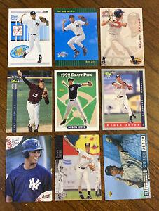 1992 1993 & 1994 DEREK JETER ROOKIE CARD LOT(9) w/1992 Topps Draft Pick #98 READ