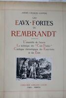 Rembrandt Les Eaux-Fortes de Rembrandt 1922