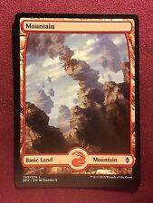 Battle for Zendikar Full Art Land  Mountain #269  VO  -  MTG Magic (Mint/NM)