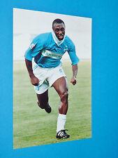 CYRIL DOMORAUD PHOTO PANINI FOOTBALL 1997-1998 OLYMPIQUE MARSEILLE OM