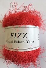 Crystal Palace Fizz Eyelash Yarn #7308 Candy Apple (Red) 50g 120yd