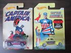 HW 2 Hot Wheels Cars Captain America 70 Ford Mustang Mach 1 & 40 Ford Coupe NEW
