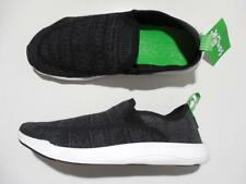 Sanuk Chiba Quest Knit Sidewalk Surfers Casual Shoes Slip On Black 8 New Unisex