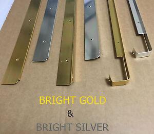 Kitchen Worktop Edging Strips Trims BRIGHT GOLD & BRIGHT SILVER *BRAND NEW*