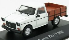 EDICOLA AUTOSINOLANCOLL004 SCALA 1/43 RANQUEL PICK-UP 1989 WHITE BROWN MODEL