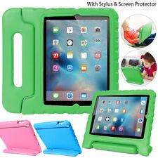 "iPad 7th 2 3 4 6 9.7"" Mini 5 4 3 2 Kids Shockproof Foam Case Handle Cover Stand"
