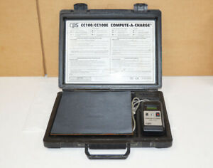 CPS Compute A Charge CC 100 Refrigerant Scale - HVAC - Free US Shipping