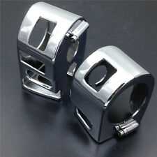 Chrome Switch Housing Cover for 1999-2012 Yamaha XVS V-Star 1100 Classic & Silve