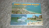 AUSTRALIAN OLD POSTCARD VIEW FOLDER. FROM THE 1980s SYDNEY NORTHERN BEACHES NSW