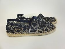 Joy and Mario Navy Espadrille Slip On Women's US sizes 6-11 NEW!!!