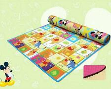 Baby Kids Foam Play Mat Carpet Playmats Activity Blanket Rug 200*180*0.5 cm