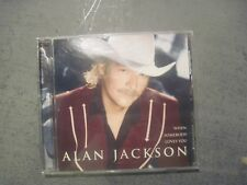 COUNTRY  MUSIC CD ALAN JACKSON WHEN SOMEBODY LOVES YOU