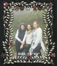 "Ultimate Craft 'BOHEMIAN BOUQUET - DELICATE PHOTO FRAME' 3.5x5"" Bling/Floral"