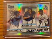 2020 Bowman Chrome Talent Pipeline #TP-TBR-  Rays