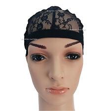 1 X Adjustable Straps DIY Wig Making Weaving Cap Net Mesh Full Cap 1231