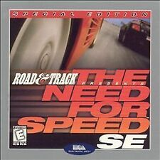 Road & Track Presents: The Need for Speed SE Jewel Case (PC, 1999)